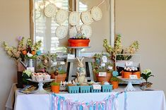 Peter Rabbit Party   Easter, Peter Rabbit Party Ideas – Dessert Table