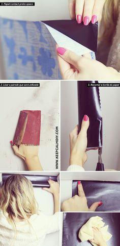 KeepCalmDIY o maior canal de Faça Você mesmo! DIY | Moda | Beleza | Viagem | Culinária: Transformação de quarto | Parede velha em parede lousa | Fotos ANTES x DEPOIS