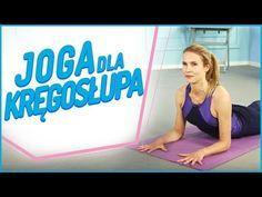JOGA kręgosłupa 💞 Gibki i mocny kręgosłup bez bólu - YouTube Sciatica, Pilates, Fitness Inspiration, Coaching, Health Fitness, Youtube, Yoga, Gym, Activities