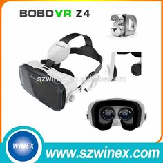 Wholesale for BOBO Z4 Cardboard Virtual reality Glasses Virtual Reality 3D Glasses with VR Headset Headphone Oculos Rift