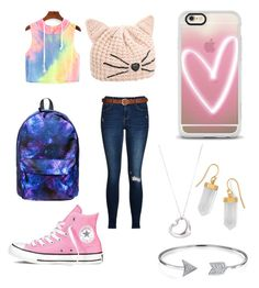 Untitled #9 by cielaphantomhivemichaelis on Polyvore featuring polyvore beauty Casetify Karl Lagerfeld Bling Jewelry BillyTheTree Tiffany & Co. Converse