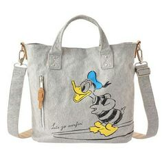 Donald Duck Drive-In Tote Bag