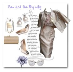 """""""Sex and the big city"""" by maytal-gazit ❤ liked on Polyvore"""