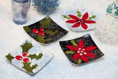Evergreen Enterprises 3PSS3639 6 in. Ceramic Square Appetizer Plate - Flurries - Set of 4 by EVERGREEN ENTERPRISES. $21.10
