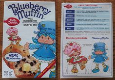 I remember this! The berries were in a can inside the box. Before that I remember the 'blueberry' mixes had the dried & concentrated berry bits in them, not real fruit.