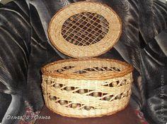 Поделка изделие Плетение Плетеные корзинки с бусами И без них Трубочки бумажные фото 6