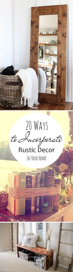 Check out this 20-ways-to-incorporate-rustic-decor-in-your-home The post 20-ways-to-incorporate-rustic-decor-in-your-home… appeared first on Decor .