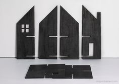 Haunted Dolls House / free templates for cardboard or plywood, extra accessaries  tips for making peg dolls