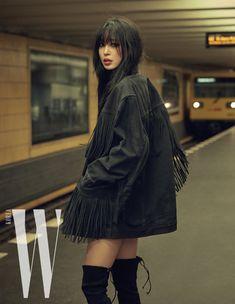 """ for W Korea"" Korea Fashion, Asian Fashion, Fashion Beauty, Korean Girl, Asian Girl, Drama News, Han Ye Seul, W Korea, New Twitter"