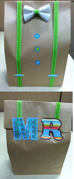 "I made this for my future husband, but it could also work for Father's Day. I used CTP 7175 Dots on Turquoise hot spot stickers for the buttons and to make the ""Mr"" I used CTP 4196 2"" Dots on Turquoise Letter Stickers."
