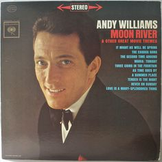 Andy Williams  Moon River And Other Great Movie by NetteArtVintage
