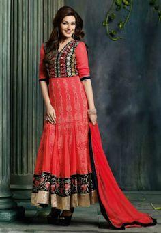 Utsav Fashion Stylish Churidar Kameez Collection 2014 For Young Girls (6)