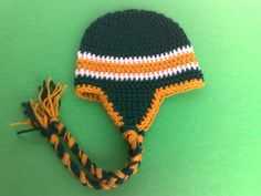 Green Bay Packers Hat NFL Hat Football Hat by RevelynsHandcrafts, $14.00