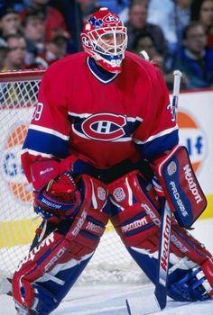 NHL netminder Pat Jablonski. Not quite Roy, but a Patrick nonetheless.