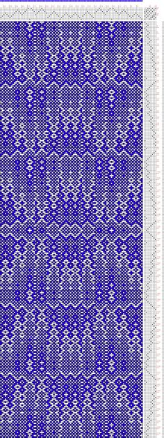 Hand Weaving Draft: cw108265, Crackle Design Project, 8S, 8T - Handweaving.net Hand Weaving and Draft Archive