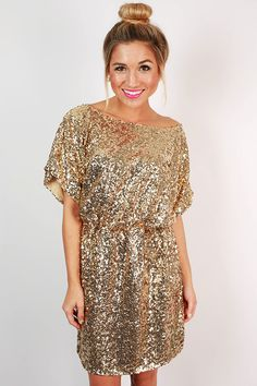 This dress is the perfect pairing for a holiday party!
