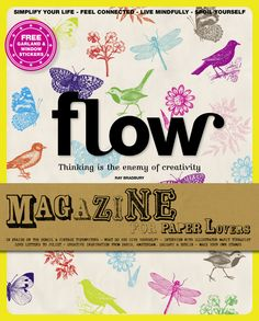 Flow Magazine International Issue 2 - Want a subscription to the International version of this magazine.  Love it!