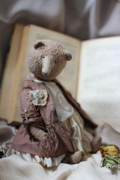 Мишка тедди Софа - купить или заказать в интернет-магазине на Ярмарке Мастеров | Мишка сшита из вискозы ручного окраса. Набита…
