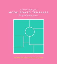 Free Mood Board Template Monday: Fruity · Rekita Nicole