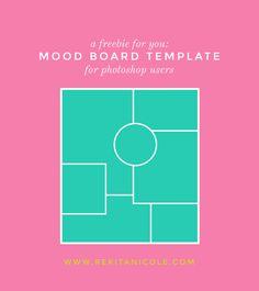 Free Mood Board Template Monday: Fruity · Rekita Nicole