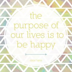 The purpose of life.