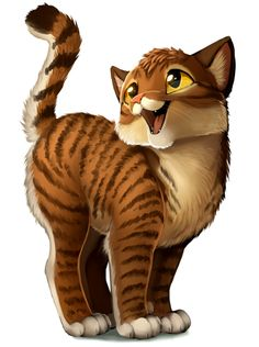 This must be Bramblekit/Brambleclaw/Bramblestar.....   I still LOVE Firestar even though he joined Starclan....