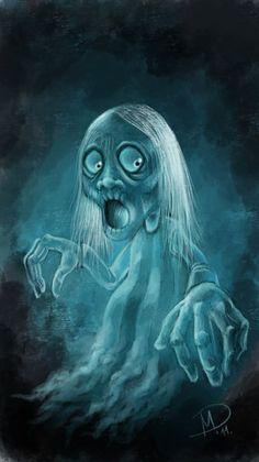 'Halloween series:Ghost' by Darjan Mikicic