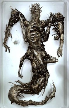 Dead Space 3 necromorph. Pretty intense.