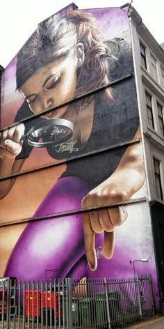 Smug One (aka Sam Bates) is an Australian born street artist based in Glasgow…