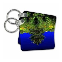 DYLAN SEIBOLD - PHOTO ABSTRACTION - TREE BEARD FACE - Key Chains #gifts Link:
