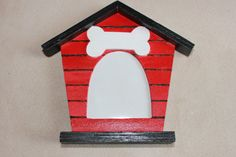 Crafted Dog House Photo Frame - Can be Personalized