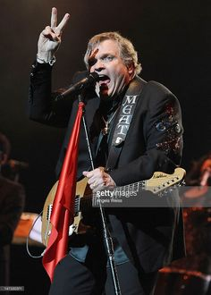 Singer Meat Loaf performs at The Wiltern on June 27, 2012 in Los Angeles, California.