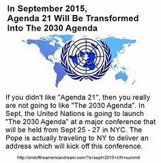 Agenda 2030 to replace Agenda 21? Are the Georgia Guide Stones going to take effect? Aug 6, 2015
