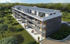 STOMEO Architektur Visualisierung - Zürich 3d Modelle, Hotels, Home Decor, Birds Eye View, Architecture Visualization, Real Estates, Floor Layout, City, Decoration Home