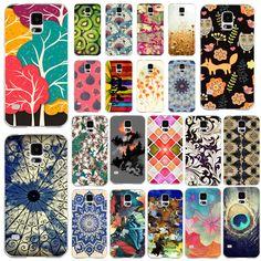 Купить товарТелефон чехол пластик, чехол для S4 i9500 различные краска цветок жёсткая с Transpatent Edge ( WHD1201 22   42 ) в категории Сумки и чехлы для телефоновна AliExpress.                  Это наш телефон случаях          Romantic Beautiful Scenery Soft Silicon Phone Cases For Ap
