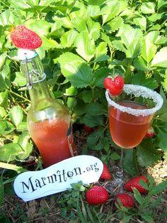Vin de fraises : Recette de Vin de fraises - Marmiton