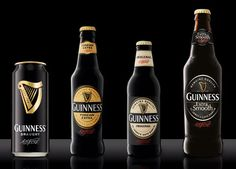 Guinness Can and Bottles