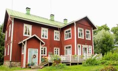Old farmhouse from 1848 in Nummela, Finland