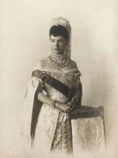 HIM Empress Marie Feodorovna of Russia (1847-1928) nee Her Royal Highness Princess Dagmar of Denmark