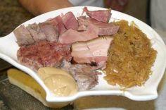 """Dish of the """"Buffet da Pepi"""" in Trieste"""