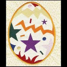Risultati immagini per easter egg embroidery design