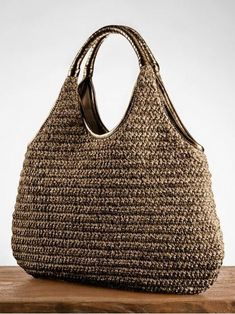 Marvelous Crochet A Shell Stitch Purse Bag Ideas. Wonderful Crochet A Shell Stitch Purse Bag Ideas. Bag Crochet, Crochet Shell Stitch, Crochet Handbags, Crochet Purses, Knitted Bags, Handmade Bags, Fashion Bags, Purses And Bags, Knitting
