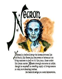 Charmed Series Book of Shadows: Necron » Metaphysic Study