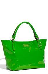 Kate Spade. Bright green! I love it.