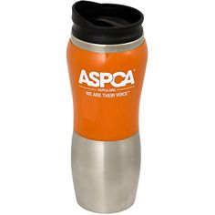 Love that I got 10% off Orange Logo Travel Mug from ASPCA for $11.24. Share a product for a 10% coupon storewide + free ground shipping over $50!
