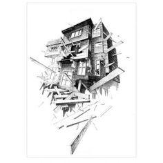 VOLATILIDAD vol.5. Original work of #caynsanchez. #Stylograph on #paper. #ilustration #ilustracion #dibujo #drawing #Artwork #Barcelona