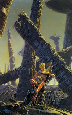 chthonios:  Isaac Asimov, Foundation and Empire, by Michael Whelan  The Mule!
