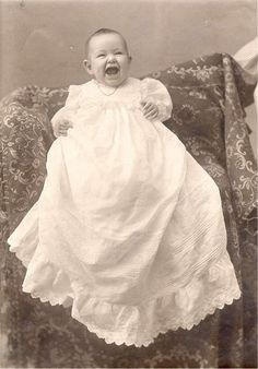 Smiling #Victorian baby. #Photography