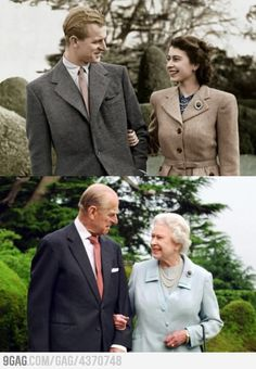 Queen Elizabeth and Prince Philip after 65 years of Marriage