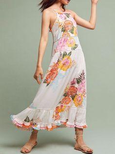 Anthropologie Farm Rio Havana Floral Dress by Farm Rio $188 Sz S - NWT #Anthropologie